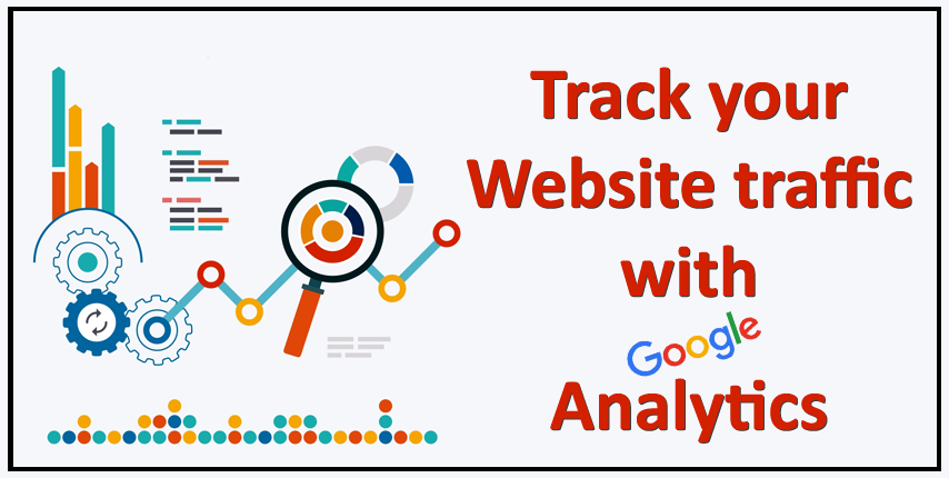 track Website traffic with Google Analytics