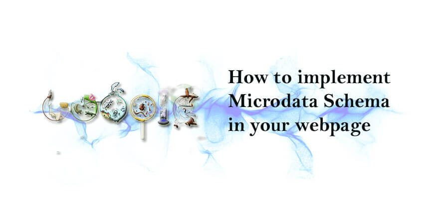 How to implement Microdata Schema in your webpage