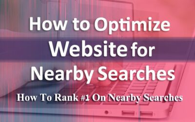 How to optimize website for nearby searches