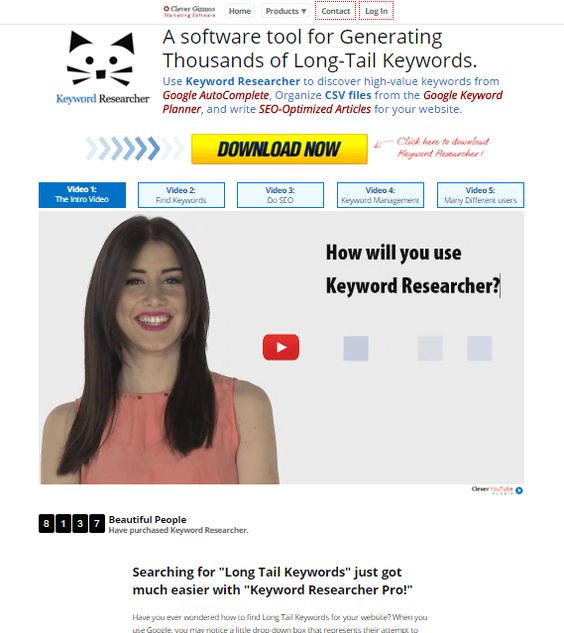 Clever Gizmos Review 2021: Master The Art Of Keywords Research